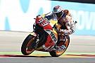 Márquez lidera el warm up con las Ducati sufriendo