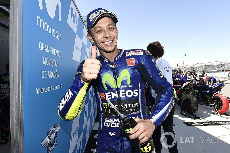 """Rossi: """"Als Pedrosa niet blij is, gaat hij maar alleen racen"""""""