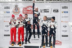 WRC Leg report Monte Carlo WRC: Ogier seals win on M-Sport debut