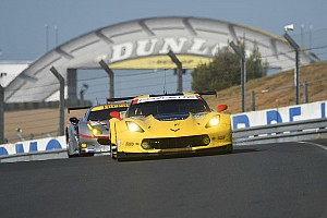 24 heures du Mans Actualités Corvette, un meilleur temps et quelques enseignements