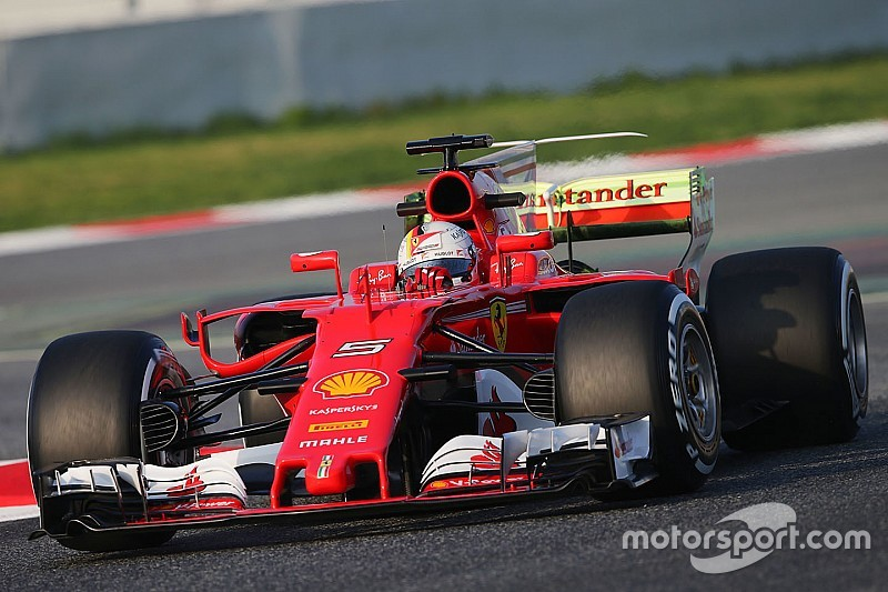 barcelone j1 vettel devant la mi journ e mclaren et red bull l 39 arr t. Black Bedroom Furniture Sets. Home Design Ideas