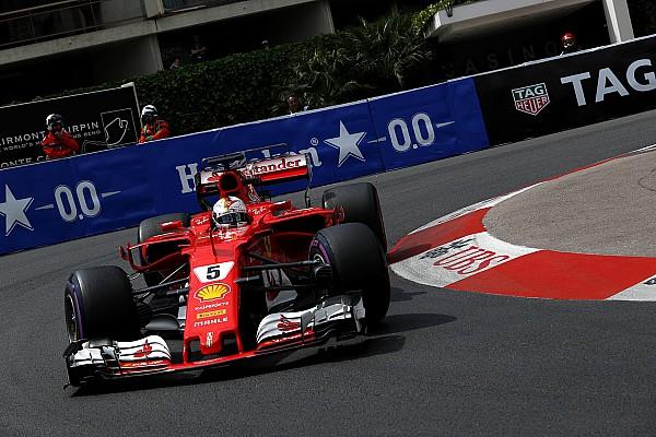 Formel 1 Trainingsbericht Formel 1 2017 in Monaco: Sebastian Vettel mit Rekordrunde im 2. Training