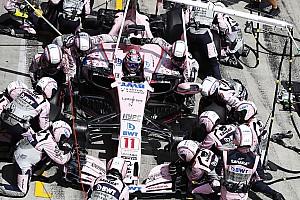 Formule 1 Actualités Force India envisage de recruter pour viser le top 3