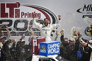 NASCAR Truck Noticias Bubba Wallace se lleva la victoria en Truck