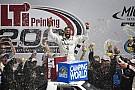 NASCAR Truck Darrell Wallace Jr. takes spectacular win in Michigan Truck race