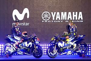 MotoGP Noticias Yamaha presentó los colores de la moto de Rossi y Viñales para 2018