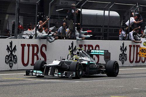 El día en el que Mercedes avisó de lo que estaba por venir