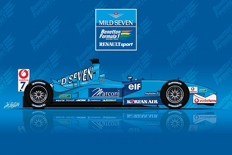 La B201 Ultime Benetton De L Histoire De La F1 Motorsport Com
