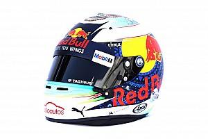 Formule 1 Diaporama Photos - Le casque spécial de Daniel Ricciardo à Mexico