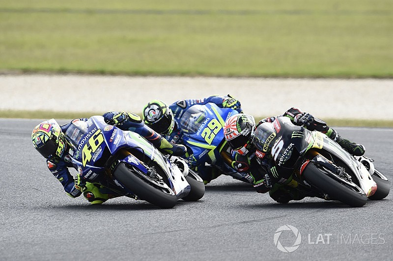 "Rossi: ""Crazy"" Iannone cost me shot to beat Marquez"
