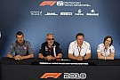 British GP: Friday's press conference