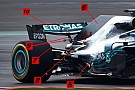 F1 Análisis técnico: las 10 novedades técnicas del Mercedes W09