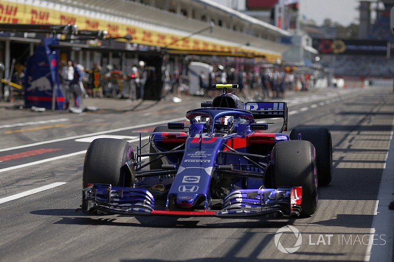 Gasly set to start last after Honda changes