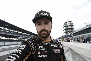 """Hinchcliffe  terminó """"devastado"""" por su descalificación a Indy 500"""