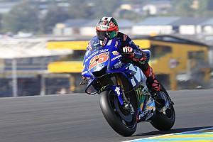 MotoGP Trainingsbericht MotoGP-Training: Vinales holt Last-Minute-Bestzeit