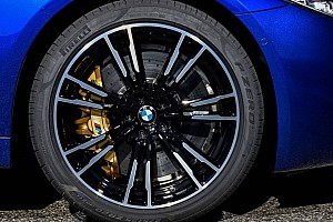 Automotive Breaking news BMW M5 uses bespoke Pirelli tires with F1-derived tire compound