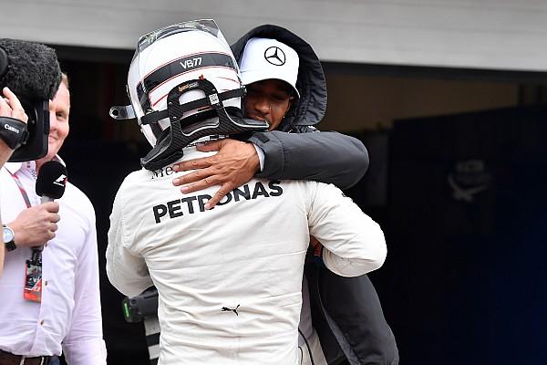 El duelo entre compañeros en clasificación – GP de Brasil
