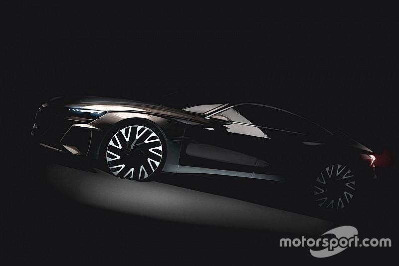 Audi показала тізер електроседана e-Tron GT