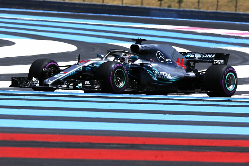 Hamilton empieza al mando en Paul Ricard