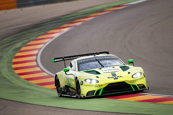 Aston Martin's new WEC car logs 20,000km in testing