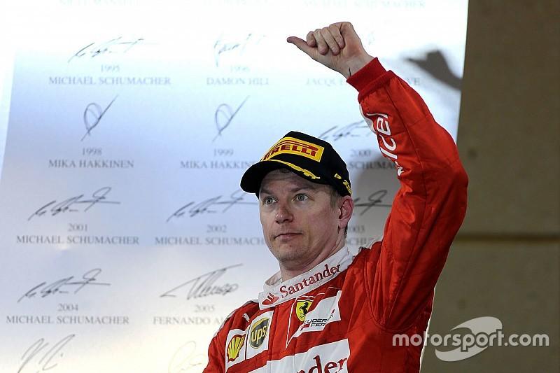"Ferrari boss hails ""absolutely spectacular"" Raikkonen"