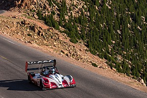 Hillclimb Practice report Romain Dumas ready for battle at Pikes Peak