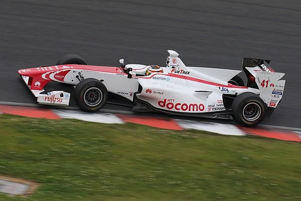 Fuji Super Formula: Vandoorne scores maiden pole