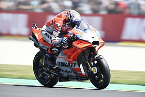 MotoGP Practice report FP4 MotoGP Prancis: Dovizioso tercepat, Rossi terjatuh