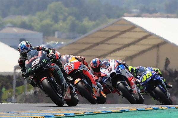 MotoGP 速報ニュース ザルコ、転倒のミス認める「もう少し仕掛けるのを待つべきだった」