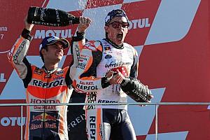 MotoGP Yarış raporu MotoGP Valencia: Pedrosa kazandı, Marquez şampiyon oldu!