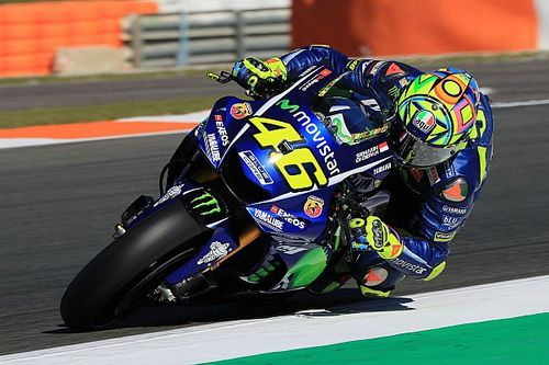 Rossi confirms 2018 Yamaha will be based on 2016 bike