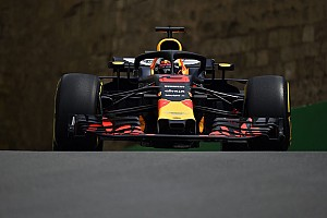 Formel 1 Trainingsbericht Formel 1 Baku 2018: Red Bull meldet Ambitionen an