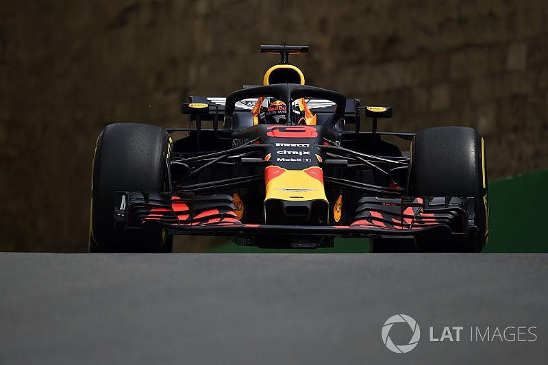 GP Baku, Libere 2: svetta Ricciardo, Raikkonen fra le due Red Bull