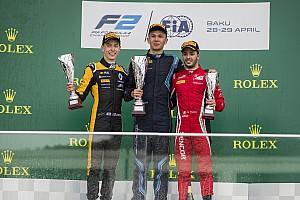 FIA Fórmula 2 Crónica de Carrera Albon sobrevive al caos para ganar en la F2