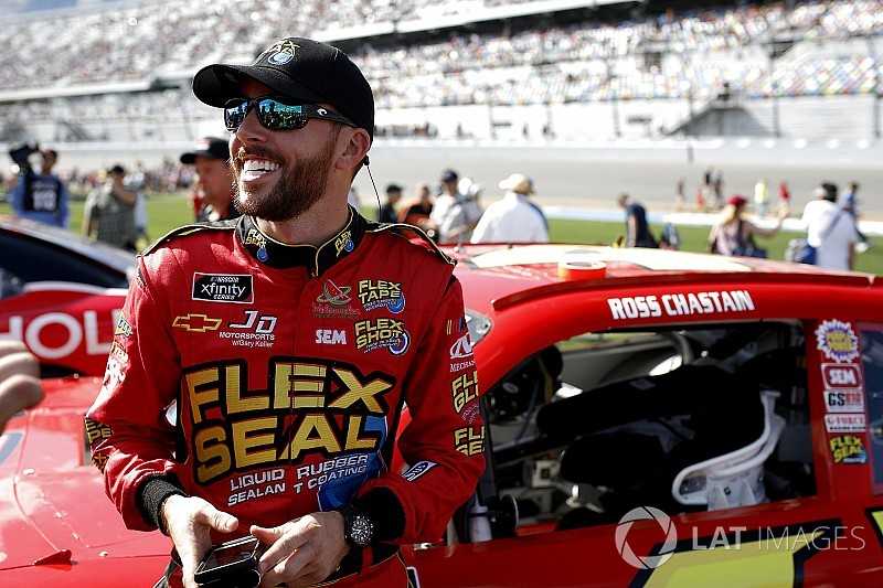 """Ross Chastain: """"It makes them mad when we race against them"""""""