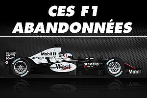 Formule 1 Contenu spécial Vidéo - Ces F1 qui n'ont jamais couru en Grand Prix