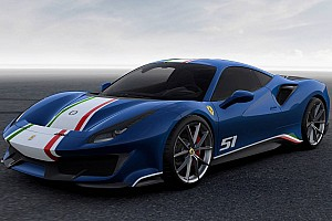 Automotive Breaking news Discover all four versions of the 488 Pista Piloti Ferrari