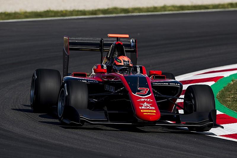 GP3 в Барселоні: Мазепін здобув перемогу в дебютній гонці