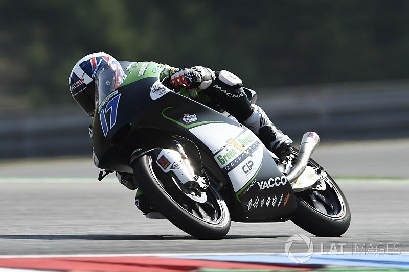 Moto3 Red Bull Ring: McPhee snelste in tweede training