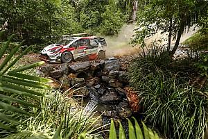 Ott Tanak apura sus opciones de ser campeón y lidera en Australia