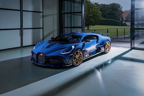 L'ultima Bugatti Divo consegnata a un cliente europeo