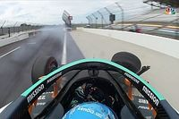 Accidente de Alonso en Indianápolis