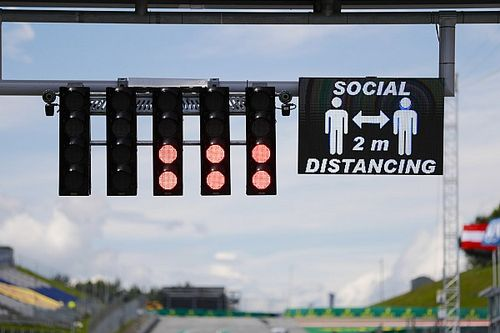 Fotogallery F1: tutto pronto per la ripartenza in Austria