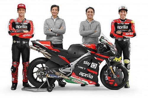"MotoGP 2021 Aprilia's ""most important"" year – Rivola"