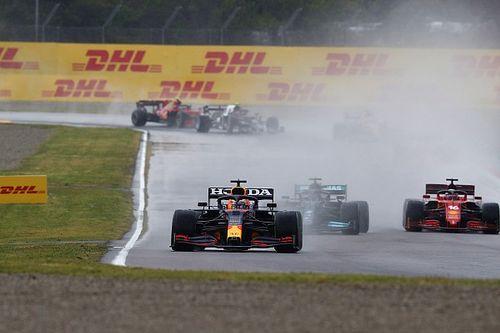 El vuelta a vuelta animado de la locura de la F1 en Imola