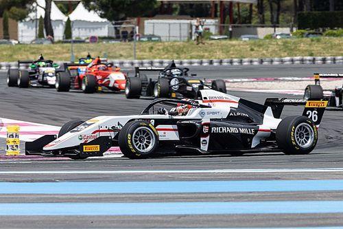 Formula Regional: Saucy sorride a metà al Paul Ricard