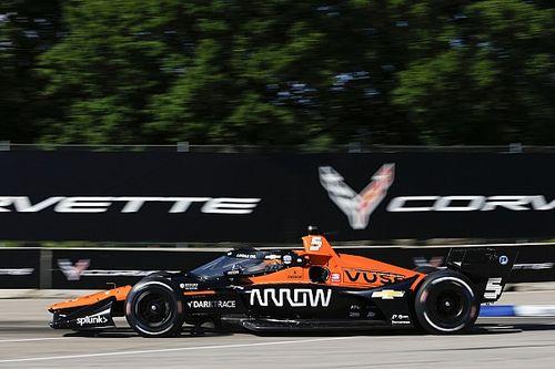 O'Ward z pole position