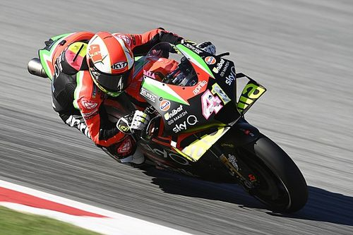 "Espargaro ""not really enjoying"" riding Aprilia in 2020"