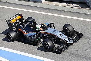Formula 1 Testing report Sahara Force India completes the last day of the first pre-season test in Barcelona
