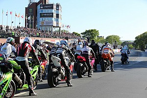 Road racing Breaking news Isle of Man TT: Rider airlifted to hospital after course car collision